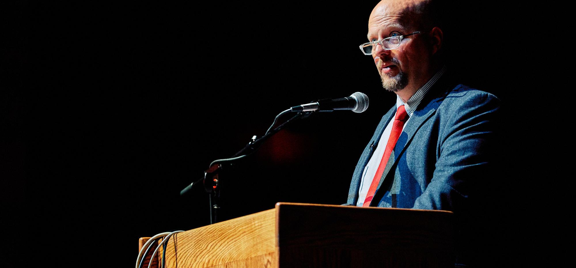 NEA-Alaska President Tom Klaameyer